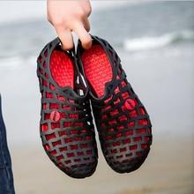 Горячие Летние Ботинки Сандалии Пляжная Обувь Для женщин Дышащий Пара обуви плавание водные обувь
