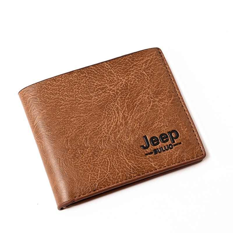 332582974f0 Dropshipping 2018 Men Wallets Mens Jeep Wallet with Coin Bag Small ...