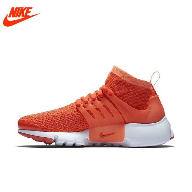 Originele Nieuwe Collectie Officiële NIKE Ademend vrouwen Loopschoenen  Sneakers Oranje