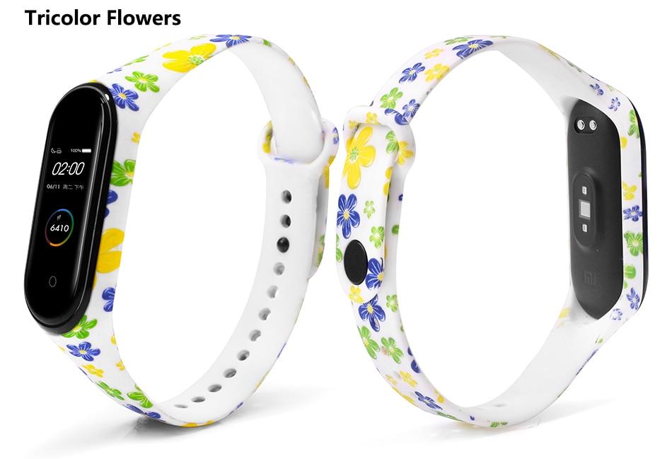 Tricolor Flowers