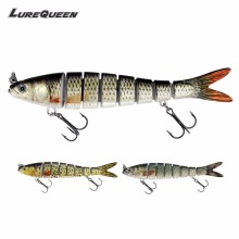 Truscend Sinking Wobblers 8 сегментов рыболовных приманков Multi Jointed swimbait 27g Hard Bait Fishing Advice for Freshwater Isca