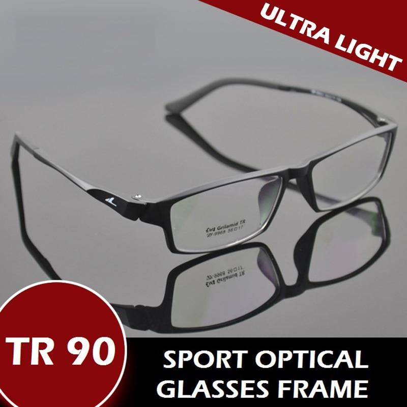 sport glasses frames zqb0  TR90 Full Rim Sports Prescription Eyewear Ultra Light Optical Eye Glasses  For MenChina