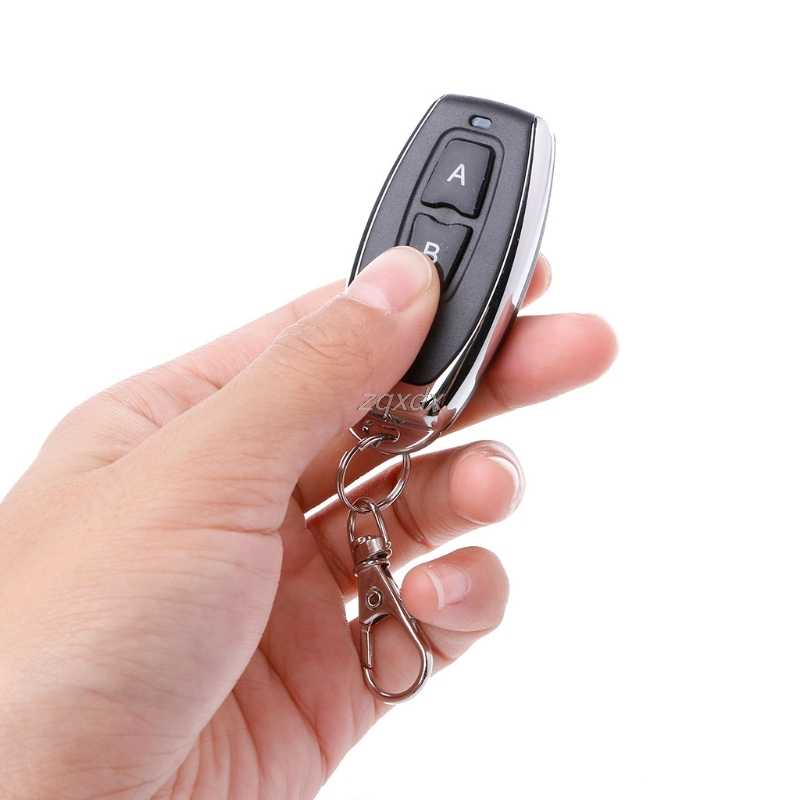 433 МГц RF пульт дистанционного управления Управление обучающий код 1527 EV1527 для открытия двери гаража сигнализация с контроллером 433 МГц ресивер Батарея
