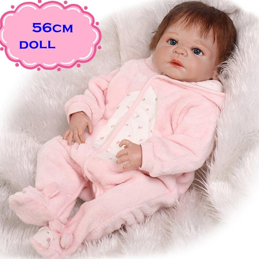 Real Toys For Girls : Inch cm best seller npk full silicone vinyl baby dolls