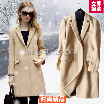 Popular Long Tan Coat-Buy Cheap Long Tan Coat lots from China Long ...