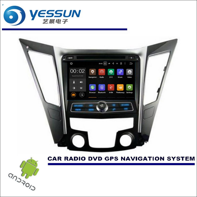 YESSUN For Hyundai Sonata YF 2011~2014 - Car Multimedia Navigation System CD DVD GPS Player Navi Radio Stereo HD Wince / Android yessun car android navigation system for hyundai i20 click 2008 2014 radio stereo cd dvd player gps navi screen multimedia