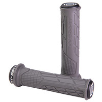 FIFTY-FIFTY MTB Bicycle Grips Custom Rubber Compound Single lock Handlebar Grips Shock-absorbing Soft Bike Grips