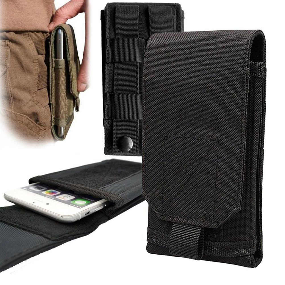 5/6 Inch Multifunctionele Outdoor Universal Running Holster Taille Riem Pouch Tactical Pouch Mobiele Telefoon Case