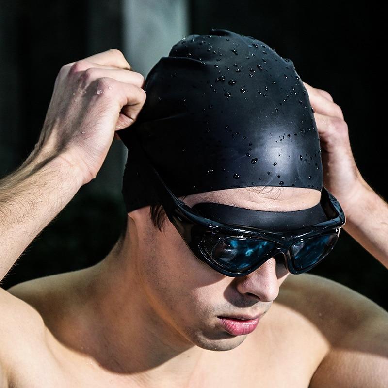 professional diopter myopia silicone swimming goggles anti-fog waterproof with earplugs