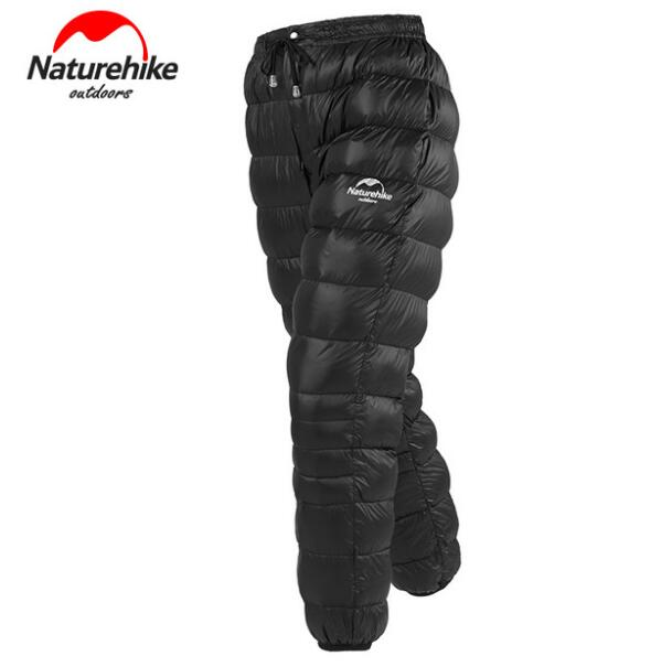 Naturehike Outdoor Unisex Goose Down Pants Climbing Hiking Waterproof Warm Camping Trousers