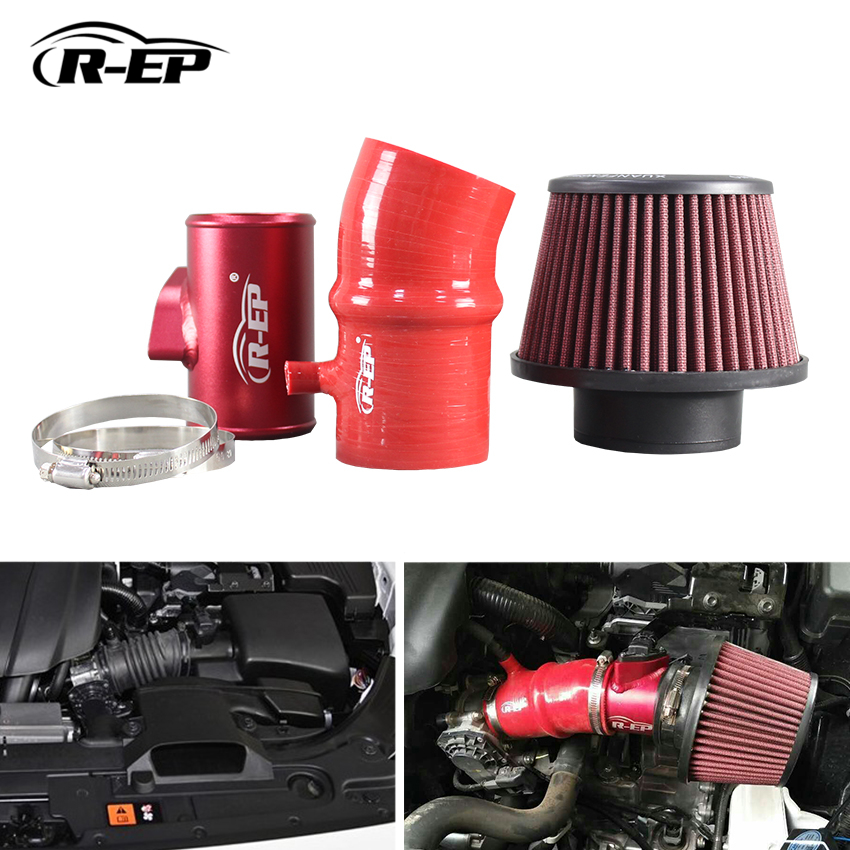 R-EP Performance Cold Air Intake Kit For Mazda 3 Axela CX-5 For Mazda 6 Atenza CX-4 2.0L 2.5L High Flow with Air Filter cnspeed air intake pipe kit for ford mustang 1989 1993 5 0l v8 cold air intake induction kits with 3 5 air filter yc100689