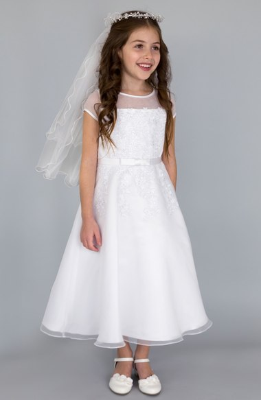 Sleeveless A-Line Flower Girls Dresses For Wedding Gowns Tulle Girl Birthday Party Dress Lace Mother Daughter Dresses for Girls new white ivory nice spaghetti straps sequined knee length a line flower girl dress beautiful square collar birthday party gowns