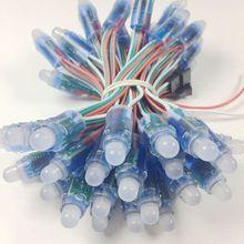 1000pcs 12mm WS2811 2811 IC Full Color Pixel LED Module Licht DC 5V input IP68 waterdichte RGB kleur Digitale LED Pixel Licht