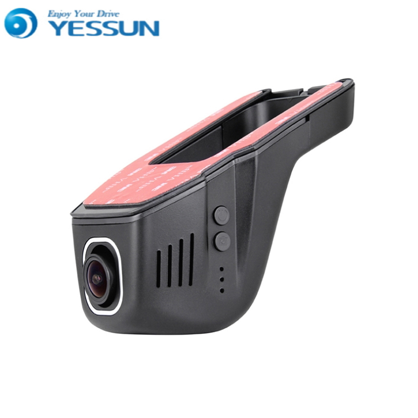 For Chery Tiggo 3 / Car Mini DVR Driving Video Recorder Control APP Wifi Camera Black Box / Novatek 96658 Registrator Dash Cam bigbigroad for subaru xv wifi car dvr fhd 1080p video recorder hidden installation g sensor novatek 96658 black box dash cam