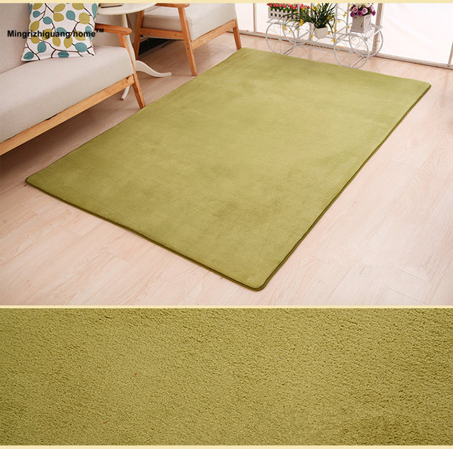 1pc Fashion Carpet Bedroom Decorating Soft Floor Warm Colorful Living Room Rugs Slip Resistant