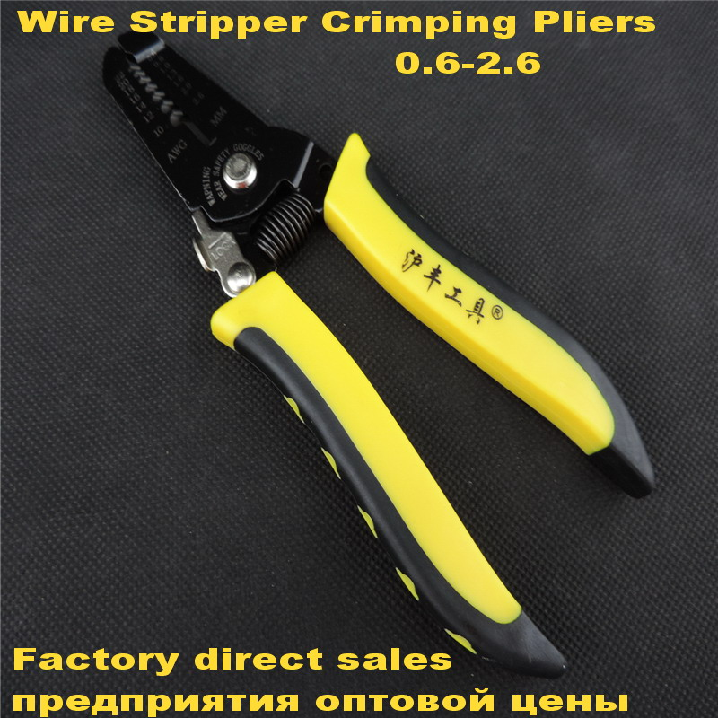 Practical Stripper Crimper Mini Crimping Wire Pliers Cable Stripping Tool SS3