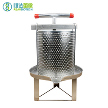 все цены на Beekeeping Stainless Steel Manual Honey Press Wax Bees Equipment and Tools Apicultura With three leg Mesh онлайн