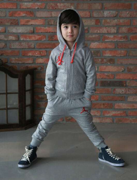Sporty Children Outerwear Kids Clothes Sets Tracksuit Cotton Baby Boys and Girls 2 Pieces Clothing Sets For 2-6T 2016 new type of cotton children tracksuit suit girls underwear baby home clothes and children s clothes