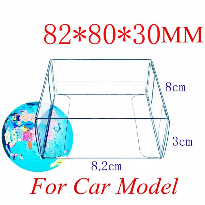 Free shipping 100pcs 8 2 8 3cm Spot PVC clear plastic box Box used to display