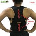 De calidad superior magnético volver Corrector de postura para estudiantes hombres y mujeres 5 tamaños Tirantes ajustables terapia de apoyo hombro T174K03