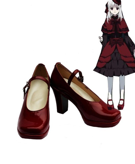 K RETURN OF KINGS Anime Kushina Anna Cosplay Shoes Boots Custom Made