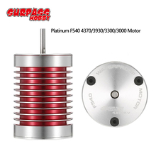 SURPASSHOBBY Platinum Waterproof Series F540 4370KV 3930KV 3300KV 3000KV Brushless Motor for 1/10 1/12 RC Car Truck Monster