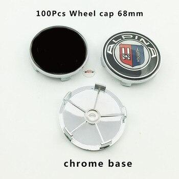 Venta al por mayor 100 piezas de rueda de coche hub logo gorra de centro de 767b5401536