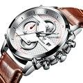 CADISEN Военно-Спортивный Кварцевые Часы Мужчины Люксовый Бренд Случайные Часы мужские Наручные Часы армия Часы полная сталь relogio masculino