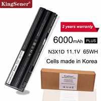 KingSener Corea Cellulare 65WH N3X1D Batteria Del Computer Portatile per DELL Latitude E5420 E5430 E5520 E5530 E6420 E6520 E6430 E6440 E6530 E6540
