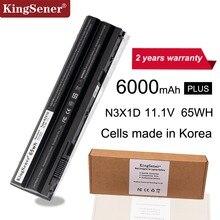 KingSener Korea Cell 65WH N3X1D Laptop Battery for DELL Latitude E5420 E5430 E5520 E5530 E6420 E6520 E6430 E6440 E6530 E6540 цена