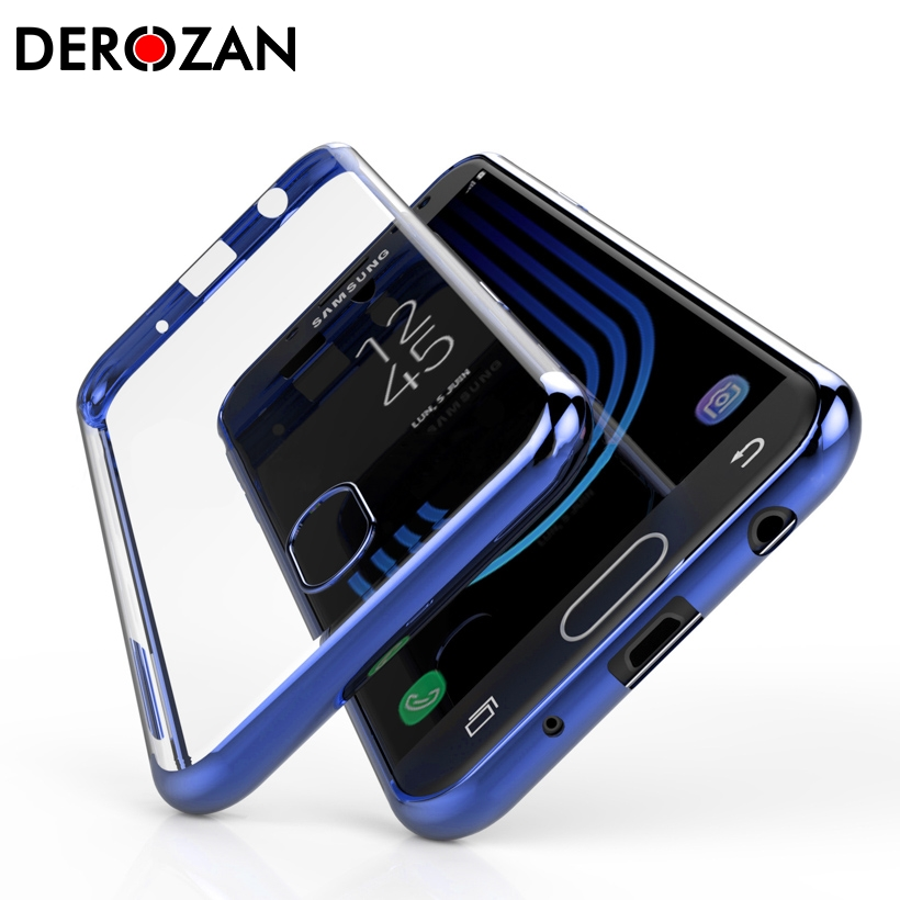 DEROZAN TPU Case For Samsung Galacy J5 2017 Case J4 Plus 2018 <font><b>J8</b></font> J6 Note 8 J7 2016 J3 J2 Pro Prime Core On7 On5 On6 Back Cover image