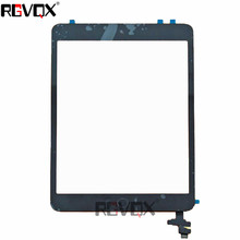 купить For Ipad Mini 2 White/Black Original Touch Screen Digitizer A1489 A1490 A1491 TP+IC With Adhesive Glass Screen