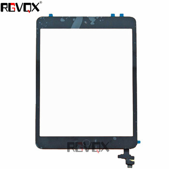 Touch Screen For Ipad Mini 2 Original Digitizer A1489 A1490 A1491 TP+IC With Adhesive Glass Screen alangduo 5pcs for ipad mini 1 a1432 a1454 a1455 mini 2 a1489 a1490 a1491 apple touch screen digitizer glass panel replacement