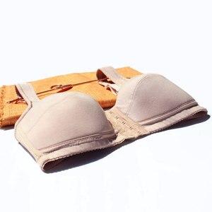 Image 3 - 6041 femmes sous vêtements avant fermeture soutien gorge pour Silicone prothèse mammaire mastectomie femmes