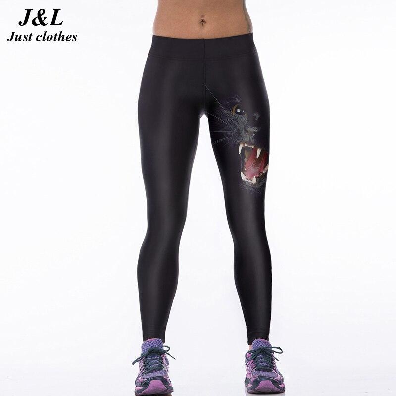 22 Warna Klasik Eropa Amerika Gaya 3D Print Wanita Olahraga Legging - Pakaian Wanita - Foto 1