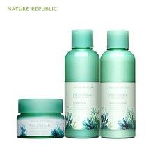 Nature Republic Polynesia Lagoon Water Hydro Eye Cream Emulsion Skin Moisturizing Korean Care Set