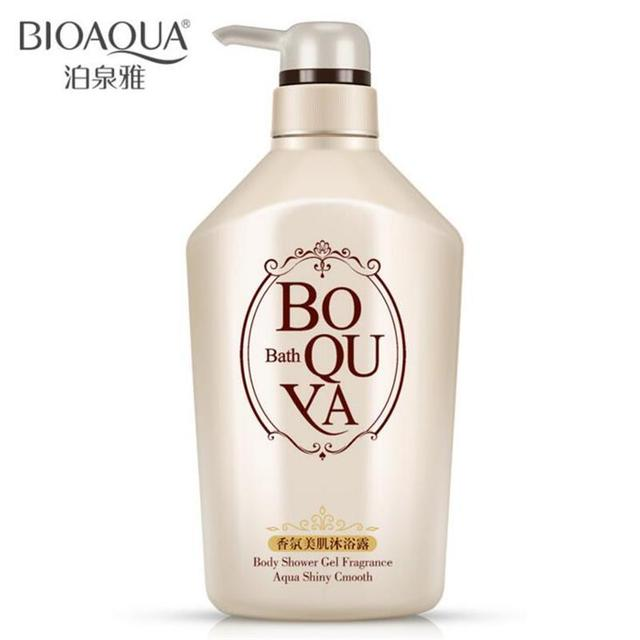 BIOAQUA Body Shower Gel Fragrance Aqua Shiny Cmotth Clean Skin Whitening  Tight And Tender Water Oil