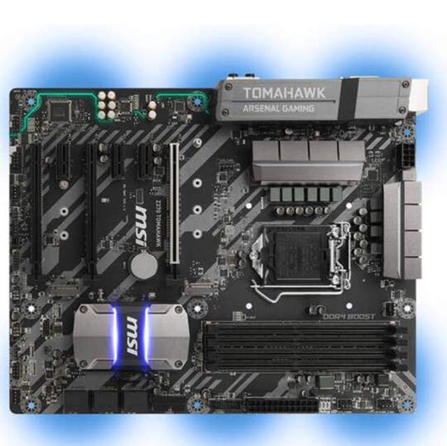 US $203 69 |MSI Z370 TOMAHAWK new original motherboard support 8600K  8700K-in Motherboards from Computer & Office on Aliexpress com | Alibaba  Group