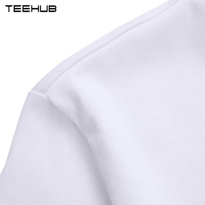 TEEHUB לשאוף לנשוף עצלן הדפסת חולצה אופנה מזדמן כושר מצחיק O-צוואר גברים של T חולצת קיץ קצר שרוול גברים בגדים