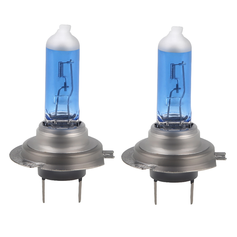 Urbanroad 2PCS H7 12V 100W 6000K Xenon H7 Super White Halogen Car Light Source Bulbs Headlights Auto Lamp Parking Cars