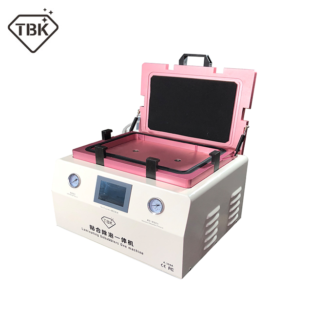 New TBK 308A 15 Inch LCD Touch Screen Repair Automatic Bubble Removing Machine OCA Vacuum Laminating Machine with automatic lock