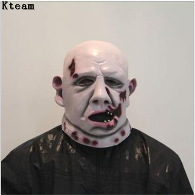 Realistic Scary Halloween Masks.Us 29 99 2018 Horror Halloween Mask Ghost Scary Mask Props Grudge Ghost Hedging Zombie Mask Realistic Silicone Masks Masquerade In Party Masks From