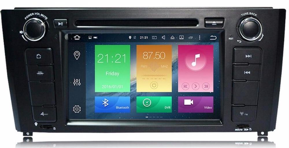 Android 9.0 4G 8 core/Android 9.0 voiture GPS DVD pour BMW 1 série E81 E82 E88 I20 lecteur dvd RADIO stéréo navigation unité de tête pc