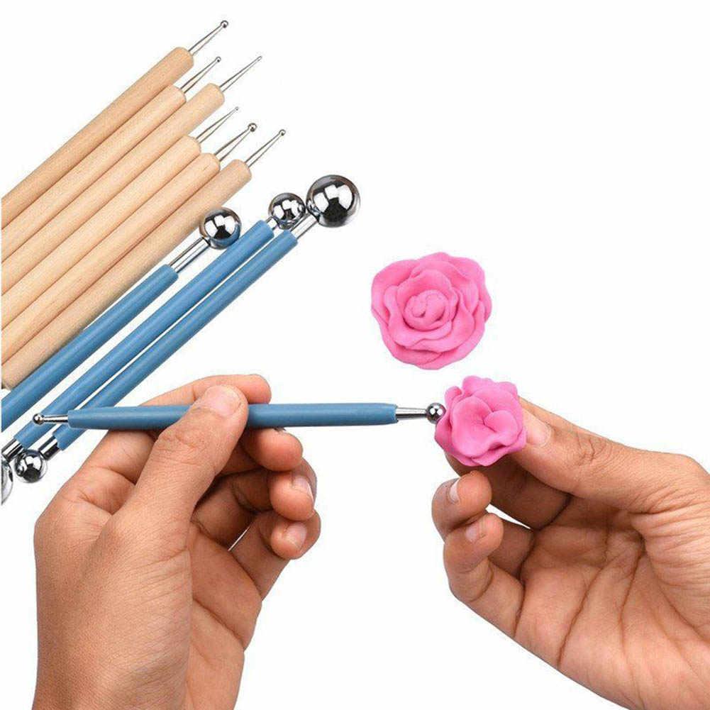 10 قطعة التنقيط عدد وأدوات كيت الفولاذ المقاوم للصدأ الكرة أقلام ل ماندالا اللوحة الصخور يو المنزل