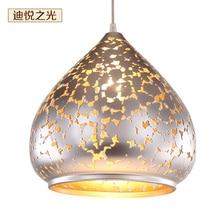 Modern fashion simple led pendant lamp lighting fixtures iron metal E27 hanging lamp for dining room Kitchen Restaurant недорого
