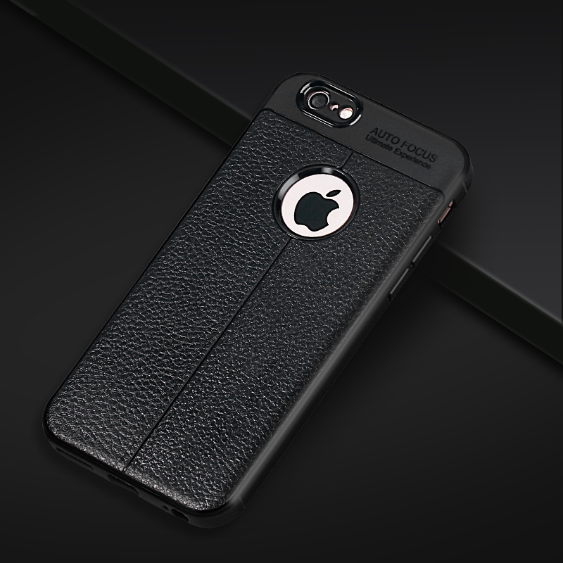 Moybmax black leather phone cases fully back cover for iphone 5 5s Se 6 6p 6s 6sp 7 7p 8 8p X
