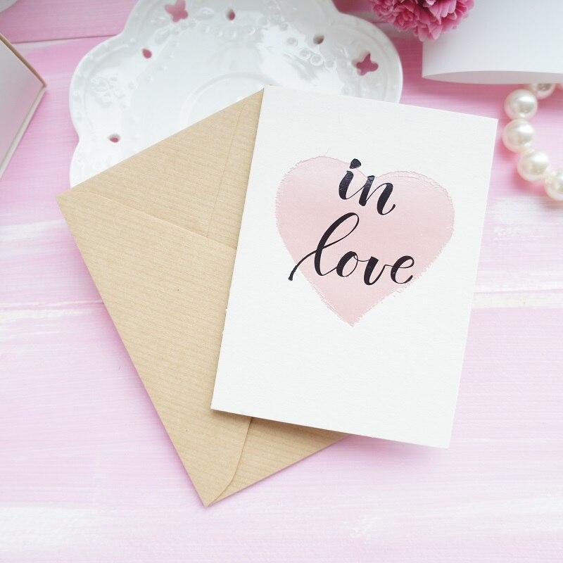 Us 999 12 Set Pink Heart Cinta Tema Hari Valentine Mengirim Cinta Kartu Undangan Dengan Amplop Pesta Pernikahan Natal Di Kartu Undangan Dari