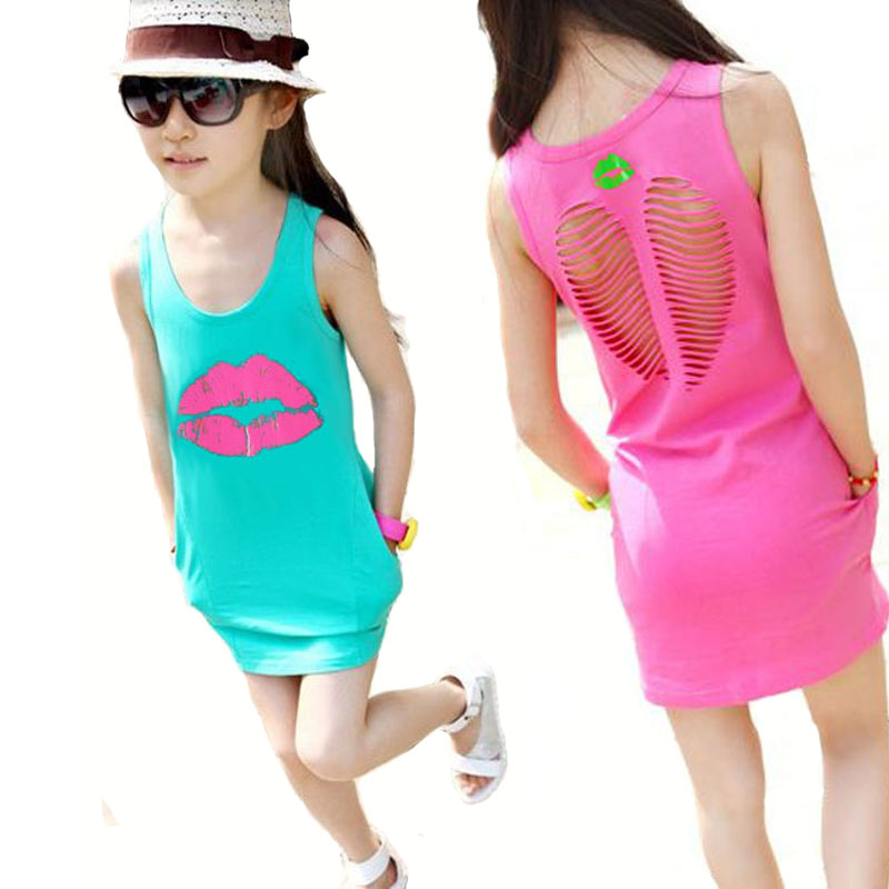 Aliexpress.com : Buy V TREE Summer girls dress cotton dresses for ...