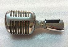 Neue Unidyne Shell Körper für 55/SH Series II Wired Baby Elvis Vintage Rockabilly Klassische Mit Schalter Vocal Speach DIY Mikrofon