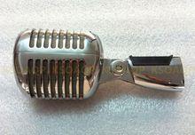 Nouveau corps de coque Unidyne pour 55/SH série II filaire bébé Elvis Vintage Rockabilly classique avec interrupteur Vocal Speach bricolage Microphone